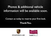 Porsche Certified Pre-Owned!! Power Rear Hatch, 8-way