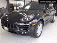 This 2017 Porsche Macan S Twin Turbo V6 AWD Includes