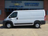2017 Ram ProMaster 1500 Bright White Clearcoat Low Roof
