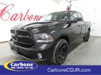 2017 Ram 1500 4WD Sport Night Edition Great Service