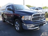 CARFAX One-Owner. Clean CARFAX. True Blue 2017 Ram 1500