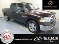 This 2017 Ram 1500 Big Horn Crew Cab is Luxury Brown
