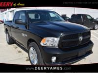 Certified. Brilliant Black Crystal Pearlcoat 2017 Ram