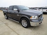 CARFAX One-Owner. Clean CARFAX. Gray 2017 Ram 1500