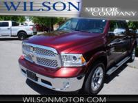 CARFAX One-Owner. Clean CARFAX. Red 2017 Ram 1500