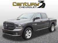 This reputable 2017 RAM 1500 Sport, with its grippy