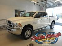 2017 Ram 2500 White Price does not include taxes, tags,