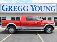 New Price! Flame Red Clearcoat 2017 Ram 2500 Laramie