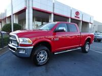 New Price! CARFAX One-Owner. Bright Red 2017 Ram 2500