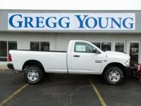 Bright White Clearcoat 2017 Ram 2500 Tradesman 4WD