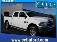 Treat yourself to this 2017 RAM 2500 Tradesman, which