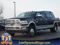 Black 2017 Ram 3500 Laramie 4WD 6-Speed Automatic