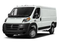 This 2017 Ram ProMaster Cargo Van 1500 Low Roof