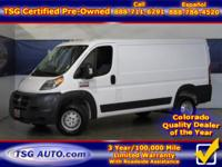 **** JUST IN FOLKS! THIS 2017 RAM PROMASTER HAS JUST