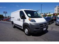 Options:  2017 Ram Promaster Cargo 1500 136 Wb|1500 136