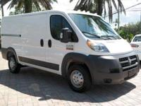 No accidents Clean Carfax. ProMaster 1500 Low Roof 136