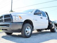 Purchase this rugged BRAND NEW 2017 Ram 3500 Tradesman