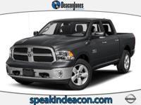 Big Horn trim, Holland Blue exterior and Diesel