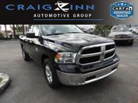 CarFax 1-Owner, This 2017 Ram 1500 Big Horn will sell
