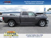 New Price! This 2017 Ram 1500 Big Horn in Maximum Steel