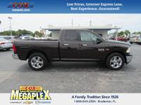 New Price! This 2017 Ram 1500 Big Horn in Stout Brown