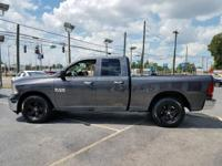 Options:  2017 Ram Ram Pickup 1500|Gray|3.21 Rear Axle