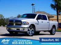 CARFAX One-Owner. Silver 2017 Ram 1500 Big Horn 4WD