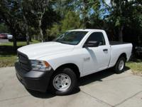 This 2017 Ram 1500 2dr Tradesman 4x2 Regular Cab 6'4