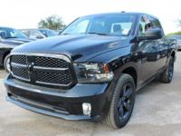 Purchase this amazing BRAND NEW 2017 bold black Ram