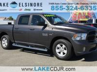 CARFAX One-Owner. 8-Speed Automatic 2017 Ram 1500