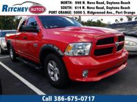 LOW MILEAGE 2017 RAM 1500 EXPRESS 2WD CREW CAB**CLEAN