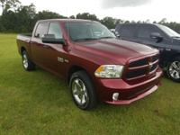 Flame Red Clearcoat 2017 Ram 1500 Express 4WD 8-Speed