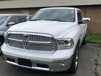 CARFAX One-Owner. Clean CARFAX. White 2017 Ram 1500