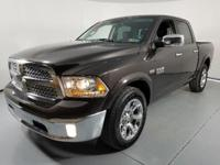 OUR 2017 RAM 1500 LARAMIE HAS A 1 OWNER CLEAN CARFAX!