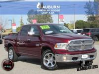 ONE OWNER, LOW MILEAGE, LEATHER INTERIOR! This 2017 Ram