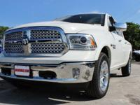 Turn heads in this LUXURIOUS bright white 2017 Ram 1500