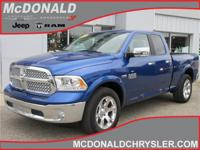 Options:  2017 Ram 1500 Laramie 4X4 Quad Cab 140 In.