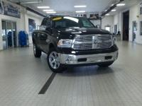 2017 Ram 1500 Laramie Black Just Reduced! loaded, clean