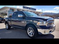 Options:  2017 Ram 1500 Laramie|4X4 Laramie 4Dr Quad