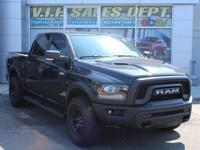 Brilliant Black Crystal Pearlcoat 2017 Ram 1500 Rebel