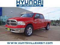 CARFAX One-Owner. Bright Red 2017 Ram 1500 Big Horn **