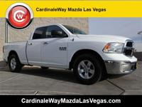 CARFAX One-Owner. Clean CARFAX. White 2017 Ram 1500 SLT