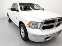 2017 Ram 1500 SLT RWD 8-Speed Automatic Bright White