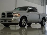 2017 Ram 1500 SLT in Bright Silver Metallic Clearcoat,