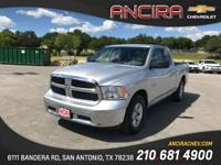 This used RAM 1500 SLT is now for sale in San Antonio