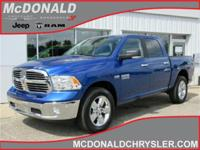 Options:  2017 Ram 1500 Slt 4X4 Crew Cab 140 In.