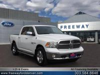 Bright White Clearcoat 2017 Ram 1500 Big Horn 4WD