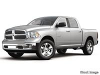2017 Ram 1500 Big Horn Must finance through dealer to