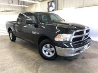 CARFAX One-Owner. Black 2017 Ram 1500 SLT 4WD 8-Speed