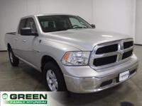 2017 Ram 1500 SLT Bright Silver Metallic Clearcoat 4WD